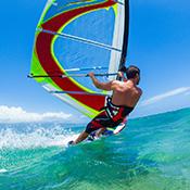 Französisch und Windsurf