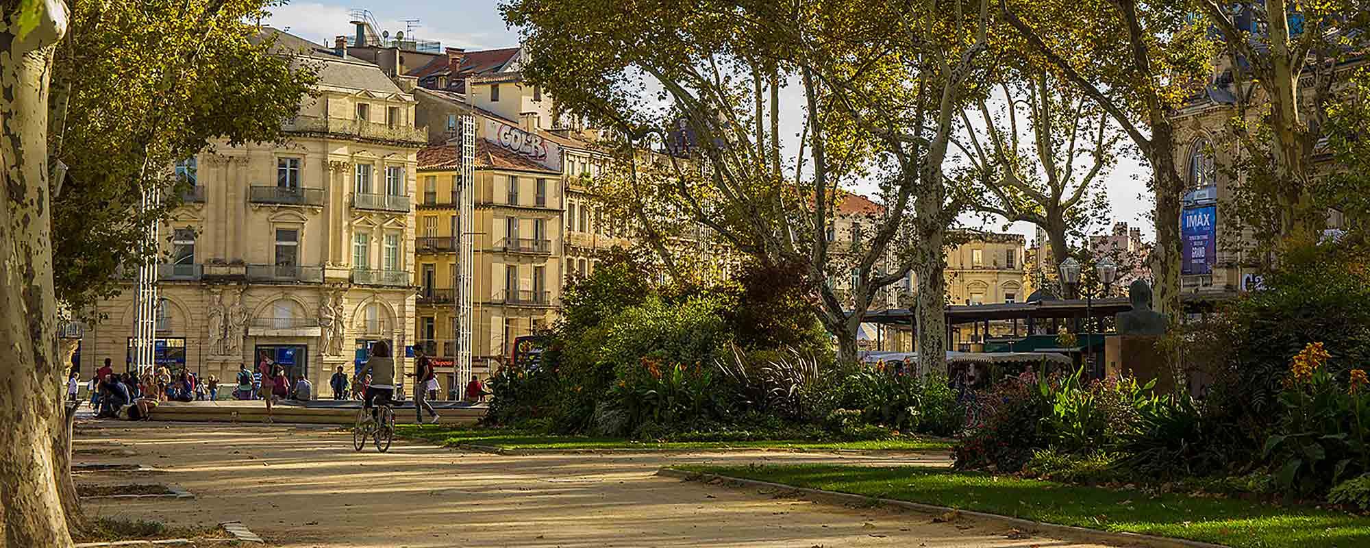 Montpellier Centre Ville Esplanade