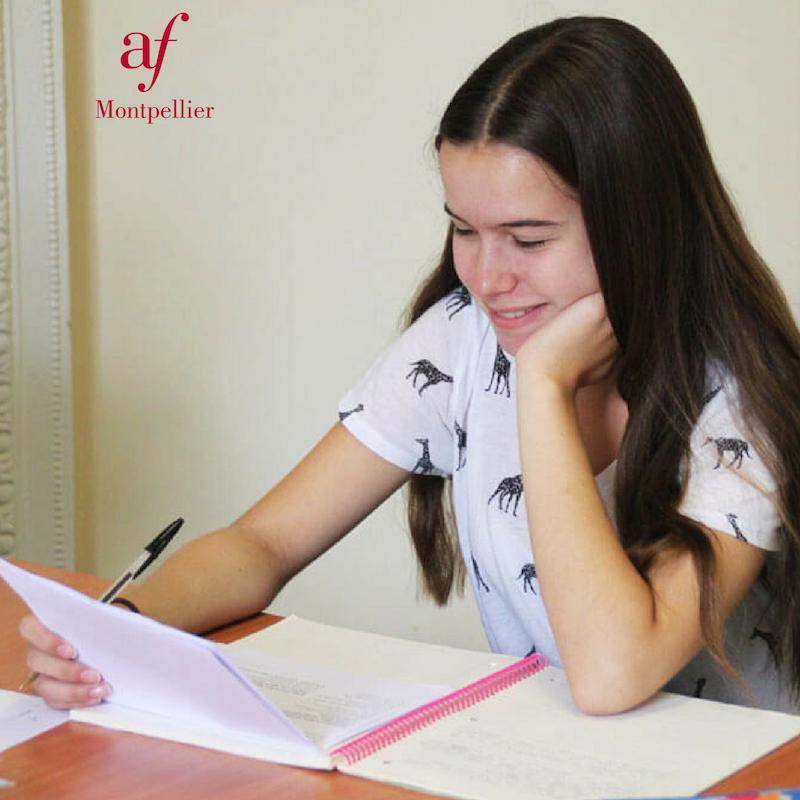 Cours de français pour les études